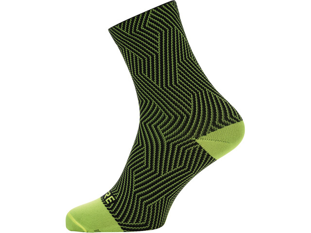 GORE WEAR C3 Optiline Mid Socks neon yellow/black